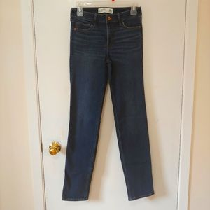 Abercrombie and Fitch Mid-rise Straight Jeans